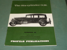 Six-Cylinder O.M. : The(PROFILE 38)